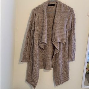brown cardigan from forever 21